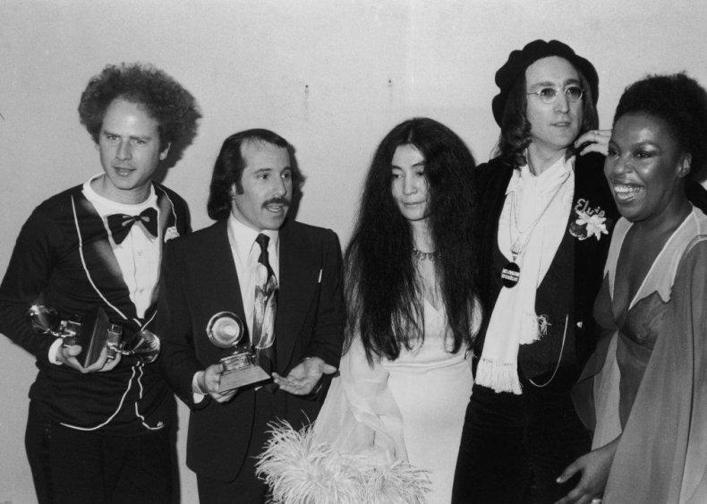 1975: Simon, Garfunkle, and Newton-John