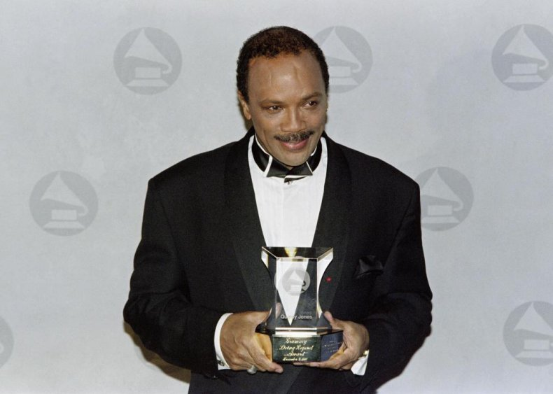 1991: An assortment of awards for Mr. Jones