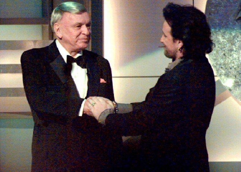 1994: Frank Sinatra gets cut off