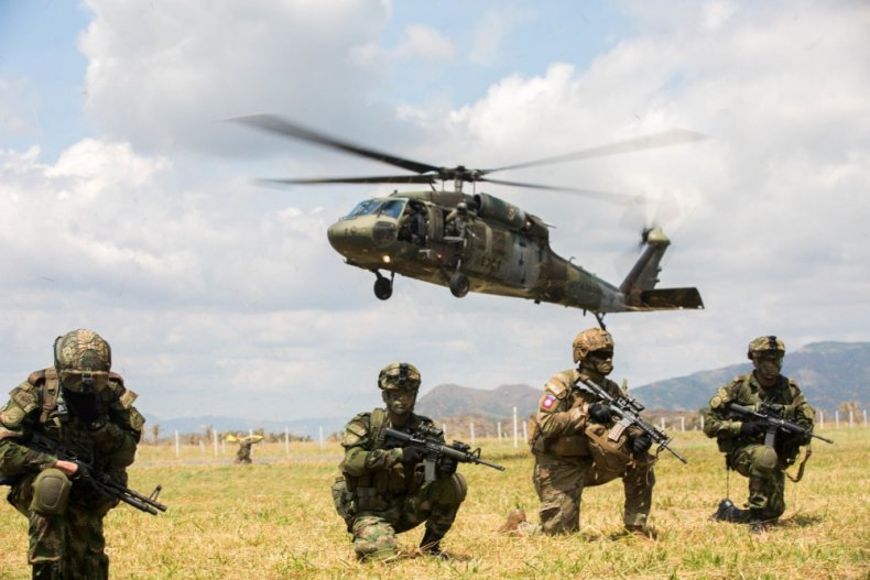 us, military, exercise, colombia