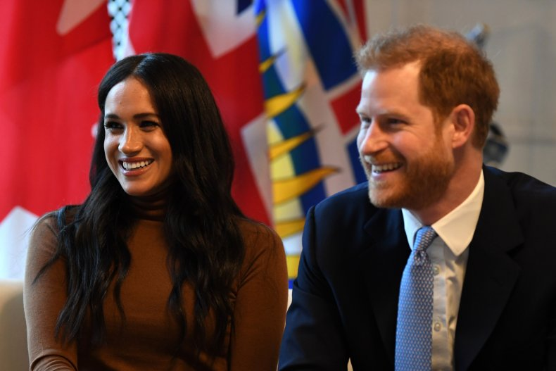 Meghan Markle, Prince Harry at Canadian Embassy