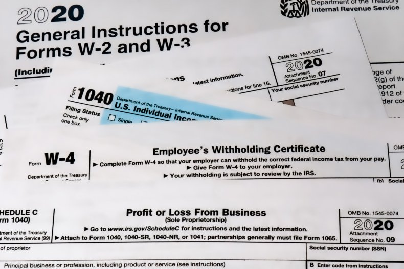 tax mistakes tax forms