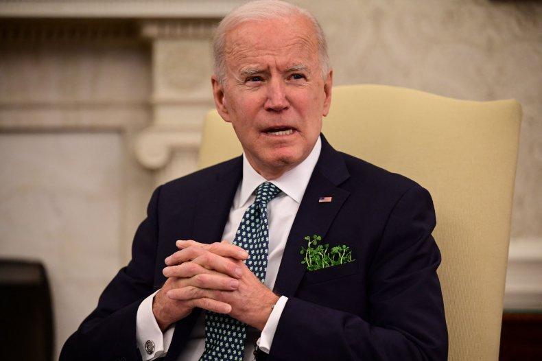 Joe Biden Oval Office 3/17/2021