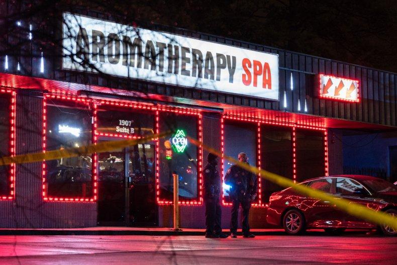 aromatherapy spa shooting Georgia 3/16/2021