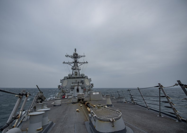 us, navy, john, finn, taiwan, strait