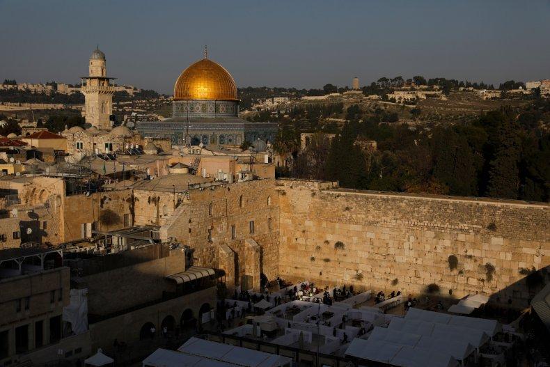 Old City Jerusalem in December 2020