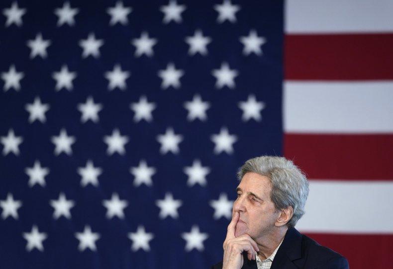 John Kerry Donald Trump Jr. Masks COVID-19