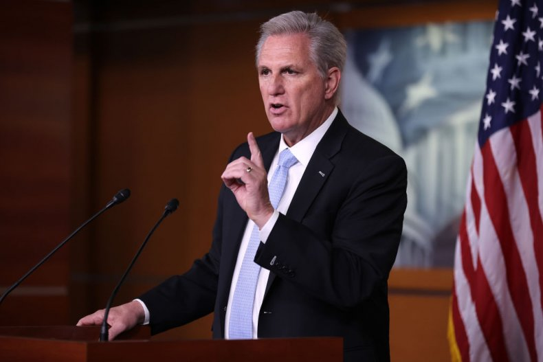 Republican House Leader Kevin McCarthy