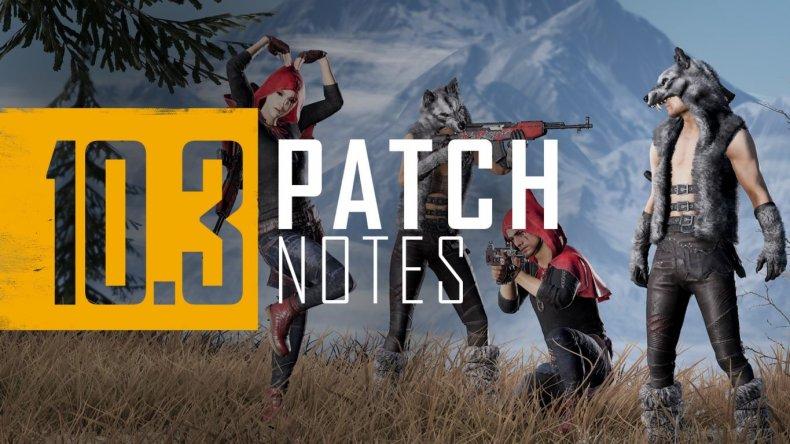 pubg console update 164 patch notes