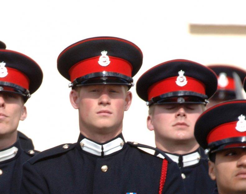 Prince Harry, Ahmed Raza Khan at Sandhurst