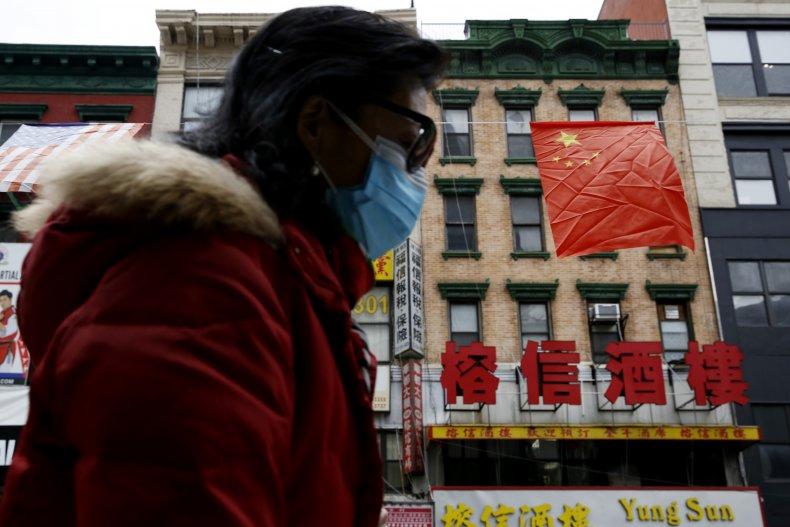 chinatown, chinese, flag, new, york, city