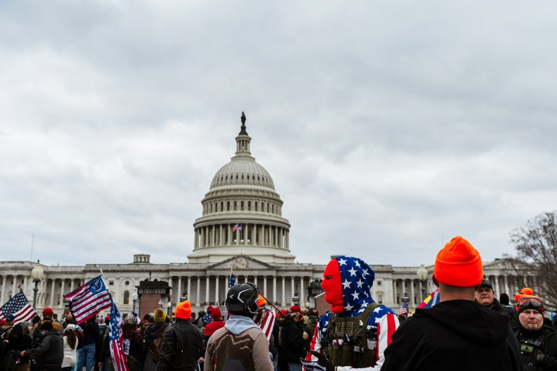 U.S. Capitol riot January 6 crowd