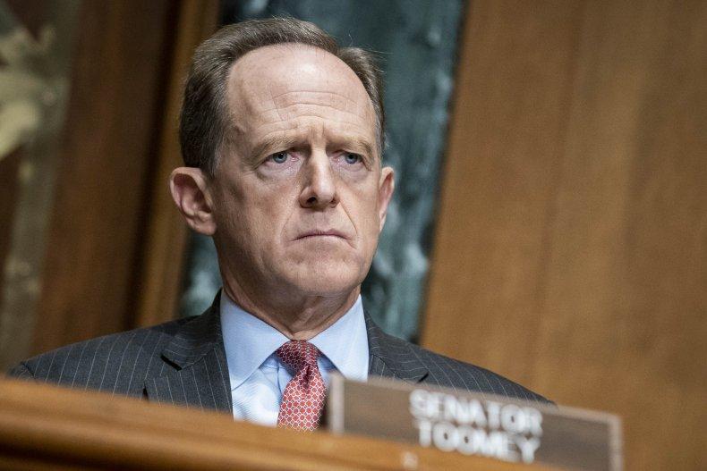 Pat Toomey Stimulus Checks Debt Collectors Senate