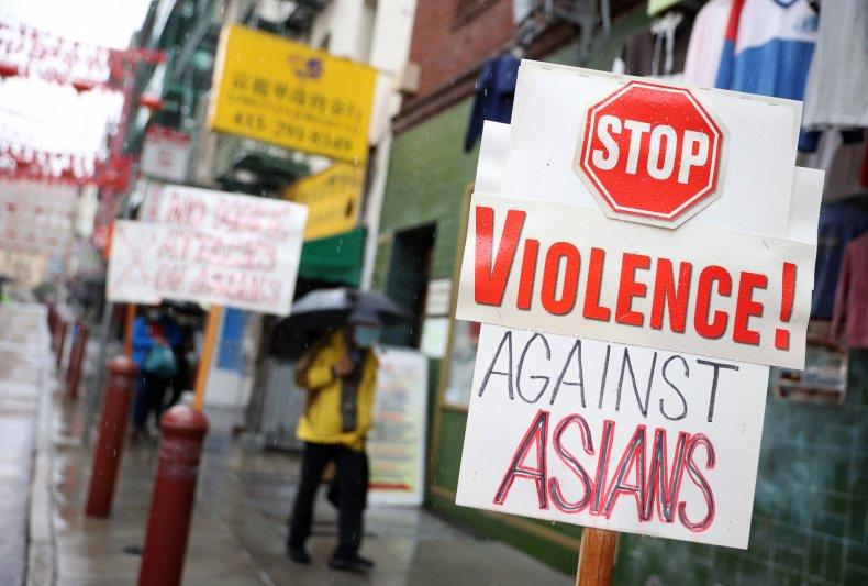 San Francisco stop violence Asians March 2020