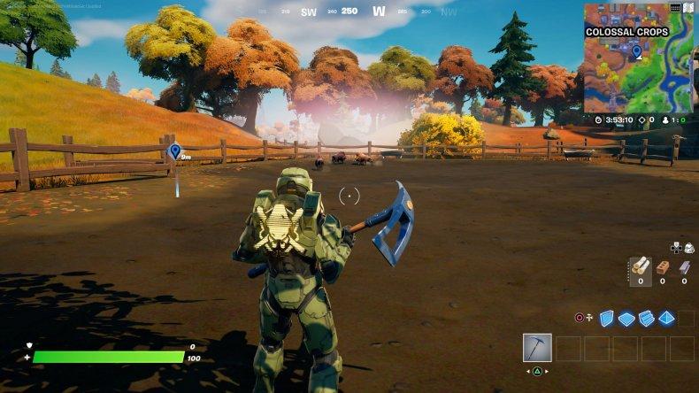 fortnite tame boar location 1 gameplay