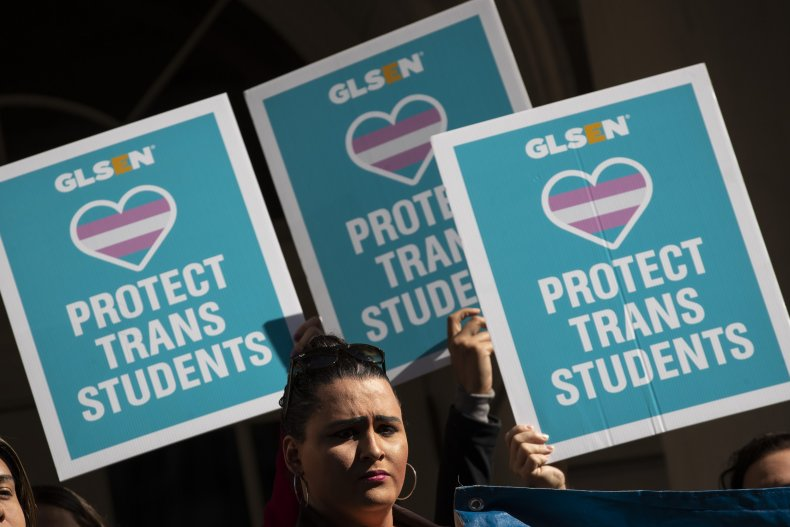 Rally in Support of Transgender People