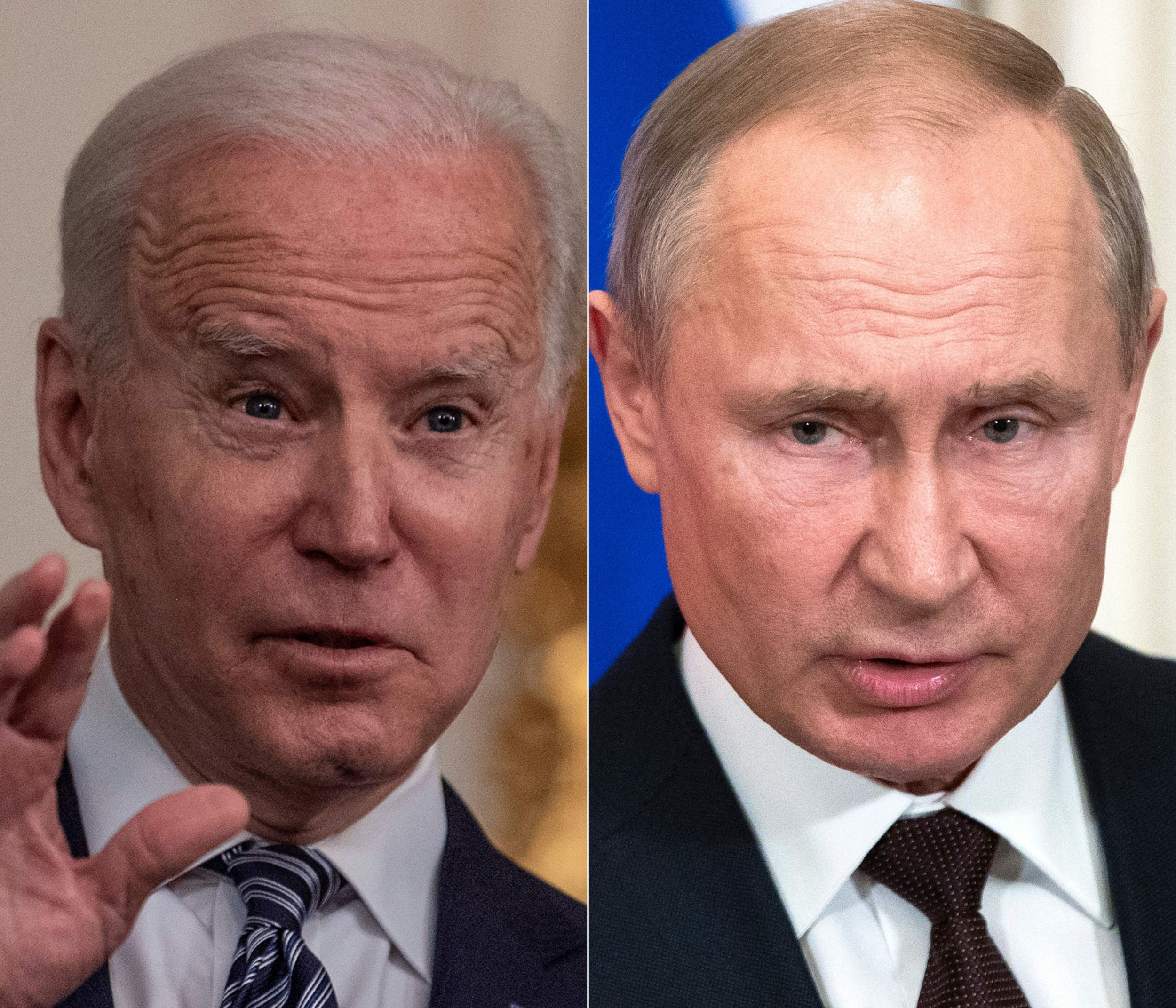 Biden to Talk to Putin 'At Some Point' After Russian Leader Challenges Him to Live Talks