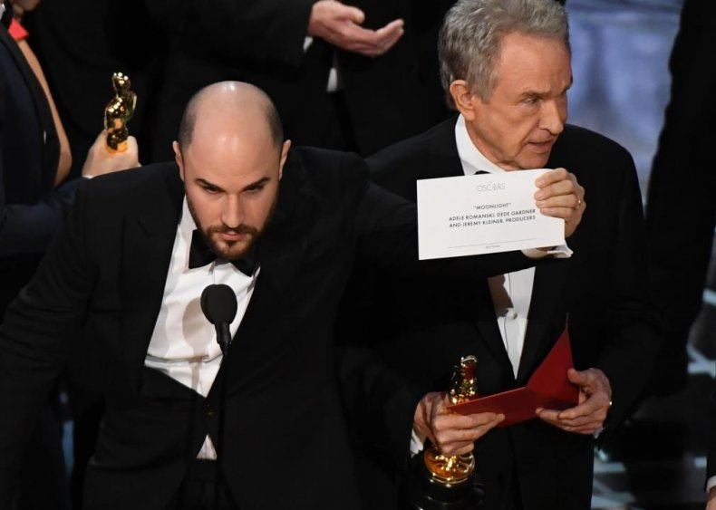 2017: 'Moonlight' wins Best Picture after presenter flub