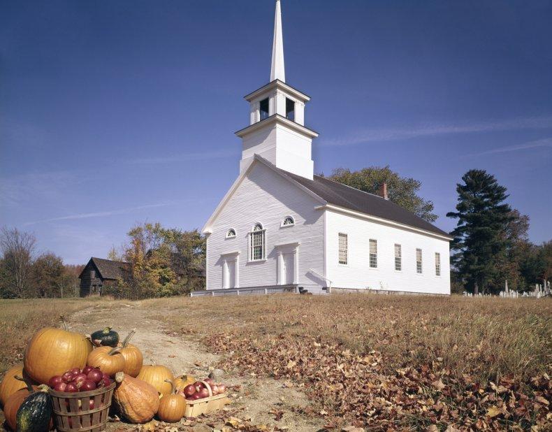 Church in rural Vermont