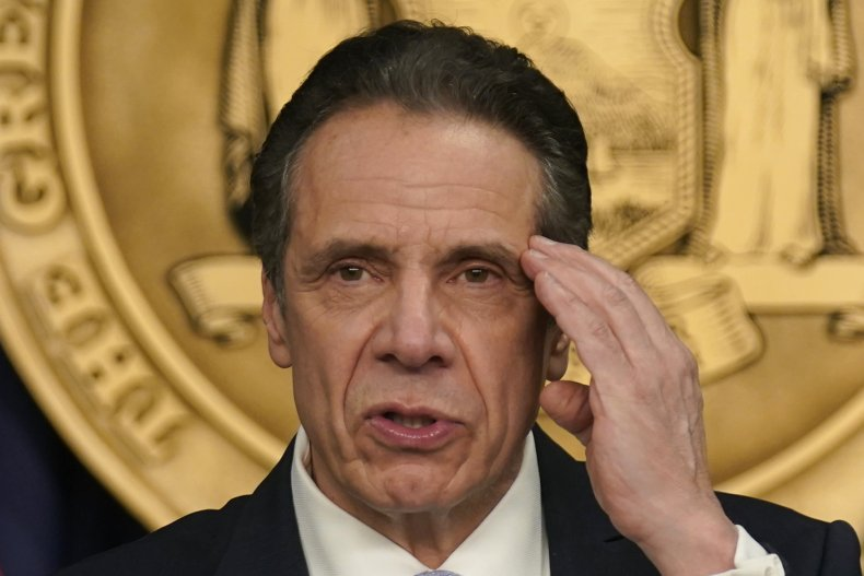 Andrew Cuomo Sexual Harassment Allegations Ninth Accuser