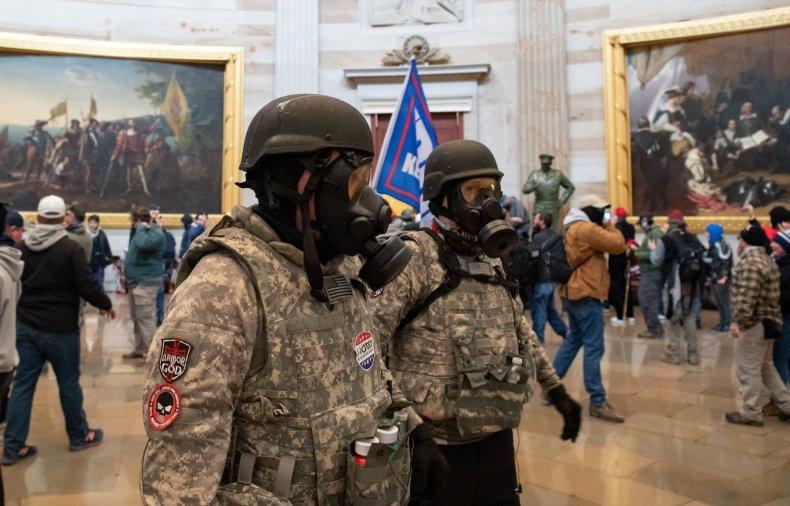 Ruben Gallego Capitol riots military veterans benefits