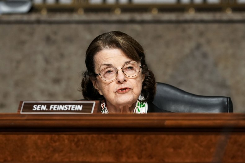 Sen. Dianne Feinstein Filibuster Joe Biden Progressives