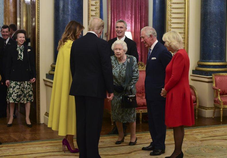 queen british monarchy american left