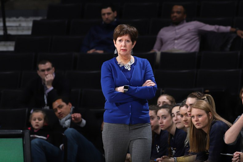 Notre Dame Coach Muffet McGraw