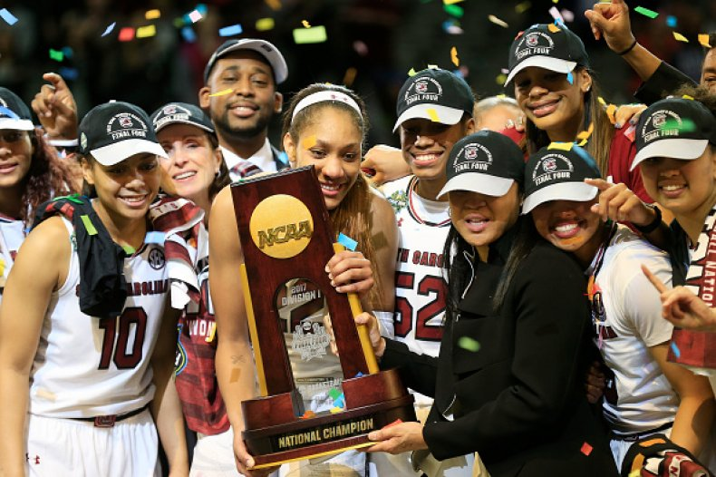 South Carolina Coach Dawn Staley