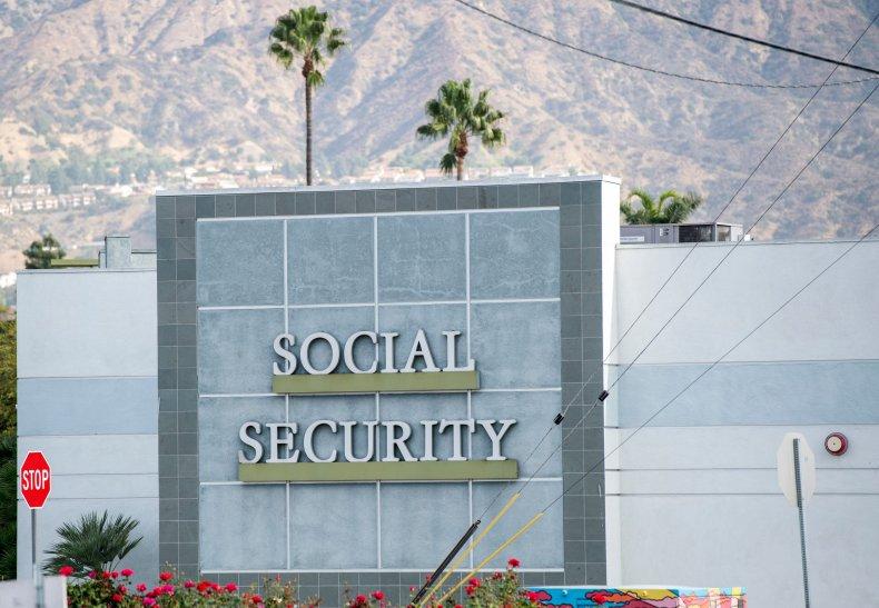 Social Security Administration building California November 2020