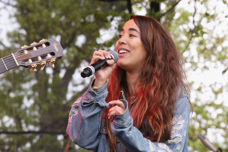 Sierra Deaton performs in Brooklyn, New York