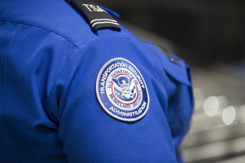 TSA Agent Shoulder