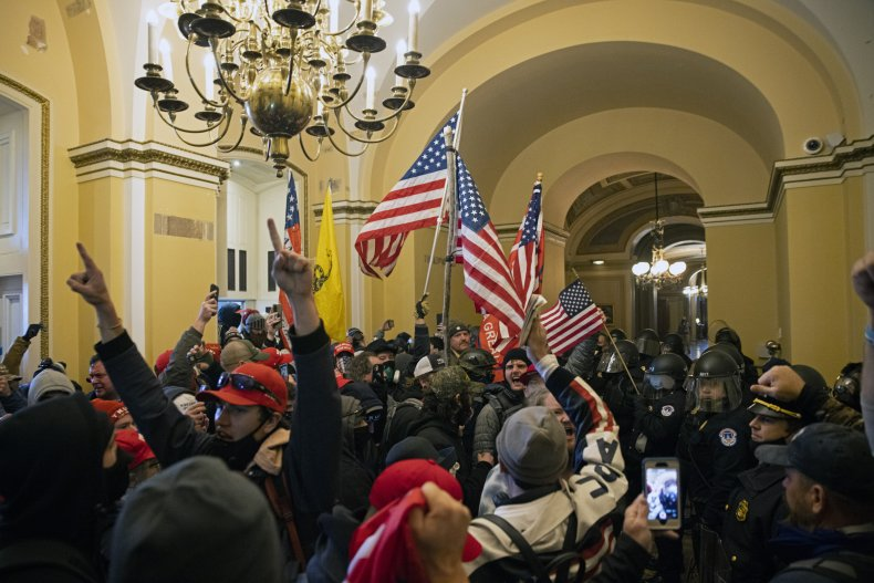 U.S. Capitol riots Washington, D.C. January 2021