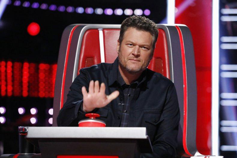 """Blake Shelton  on """"The Voice"""""""