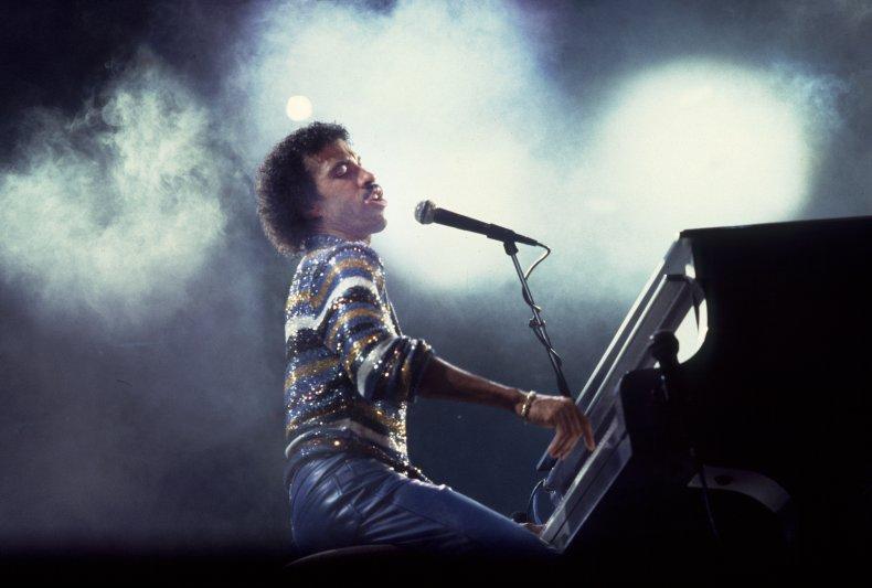 Lionel Richie On Stage