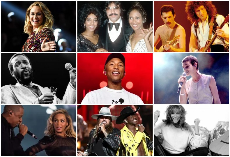 Composite of hitmakers