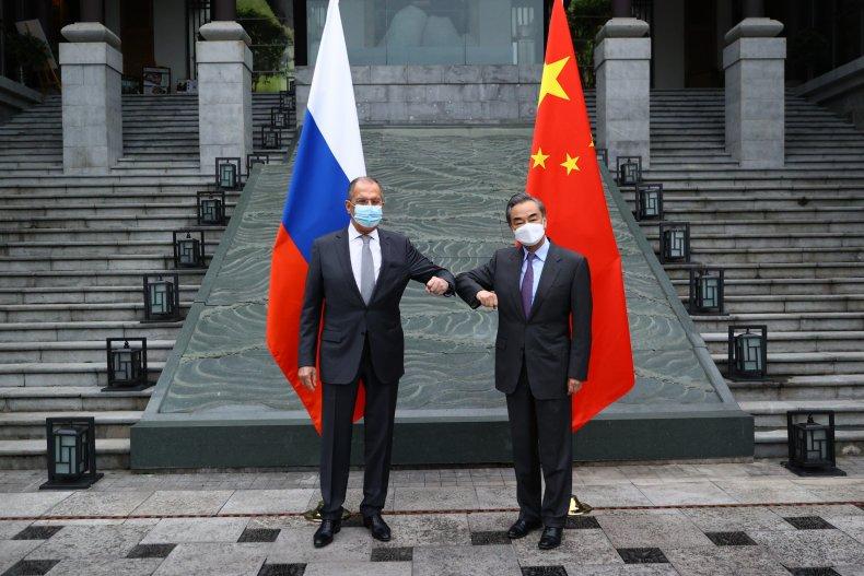 russia, lavrov, china, wang, guilin, guangxin