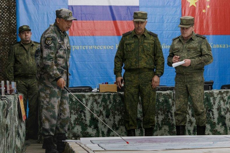 china, russia, military, partnership, training