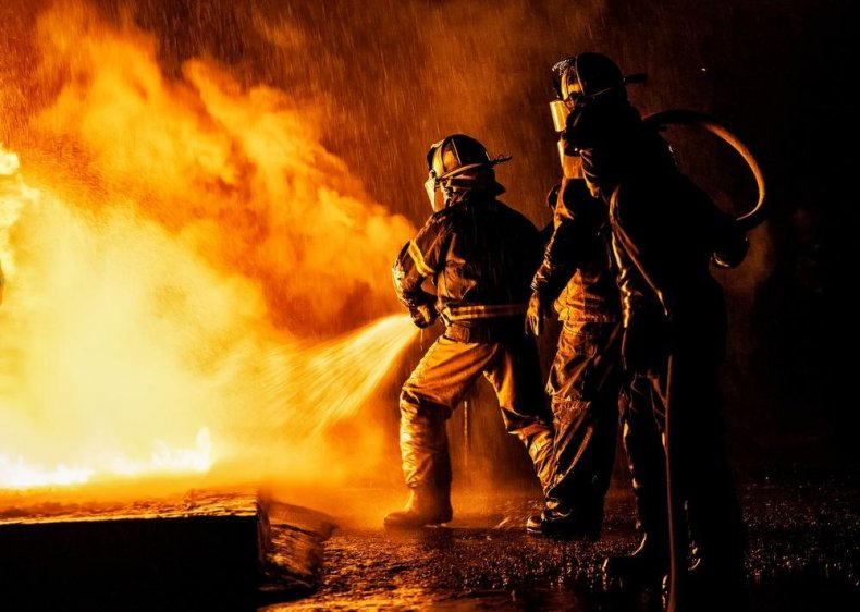 Firefighters: California