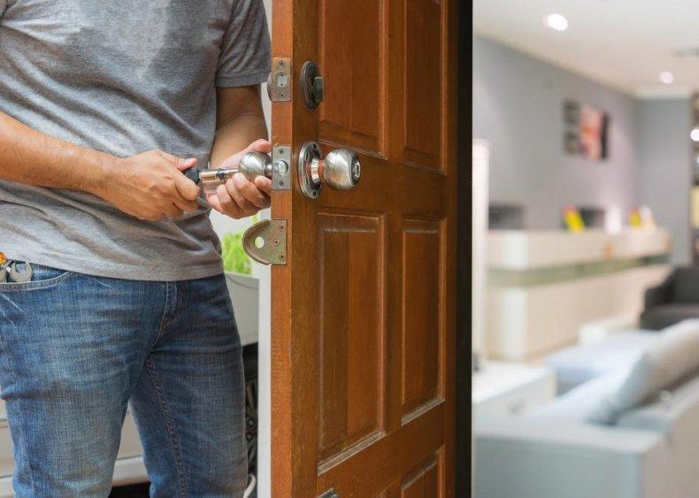 Locksmiths and safe repairers: Alaska