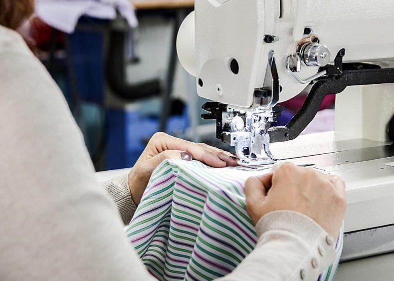 Sewing machine operators: Washington D.C.