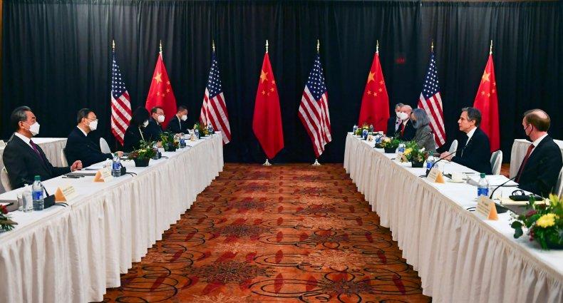 U.S.-China summit in Anchorage, Alaska