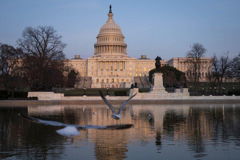 U.S. Capitol building in March 2021