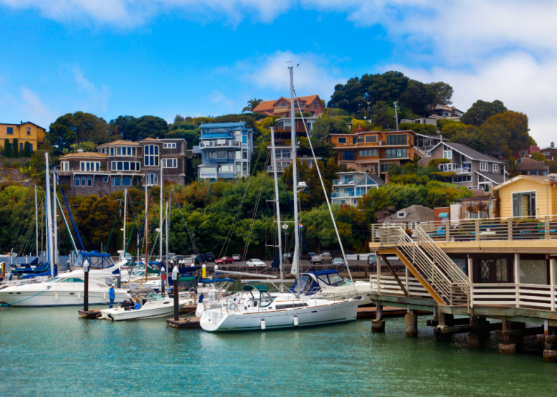 #10. Tiburon, California