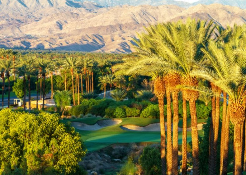 #1. Indian Wells, California
