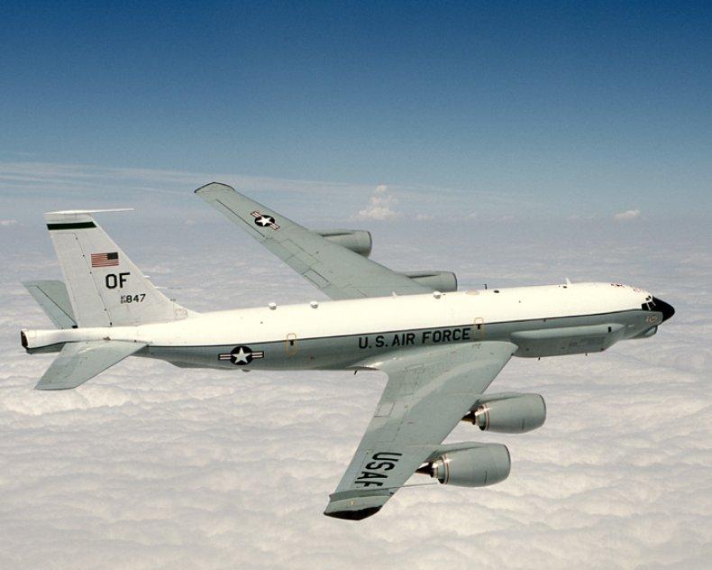 U.S. Spy Plane Makes Run on China
