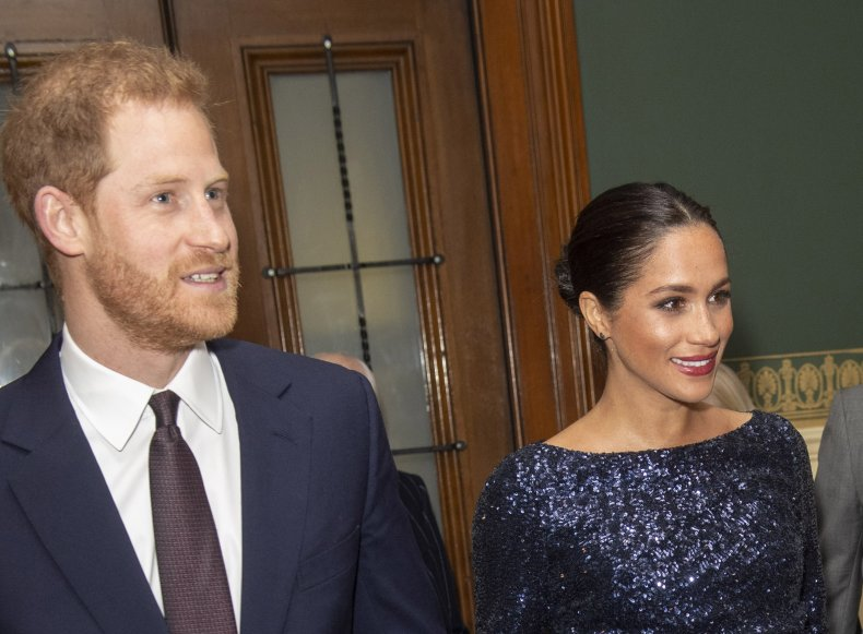 Prince Harry, Meghan at Royal Albert Hall