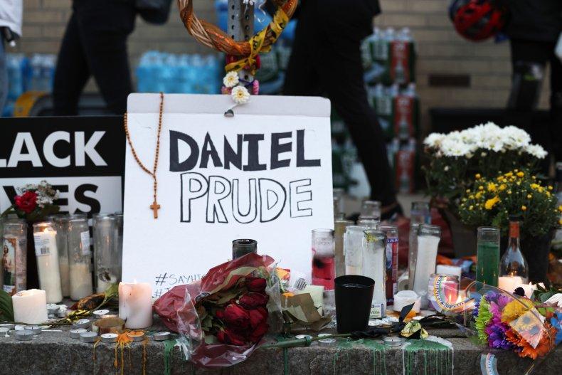 Daniel Prude one-year anniversary march