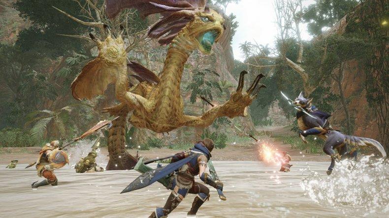 monster hunter rise online multiplayer