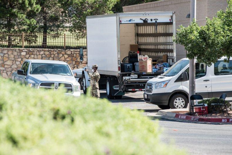 texas national guard convoy